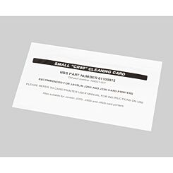 Javelin Small Cleaning Cards for DNA Card Printer Pack of 100