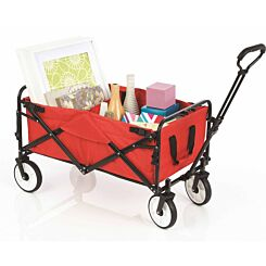 Foldable Heavy Duty Trolley Cart with Cover