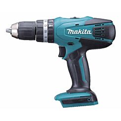 Makita G Series 18V Combi Drill with 2 Batteries and Charger plus 74 Piece Accessory Set
