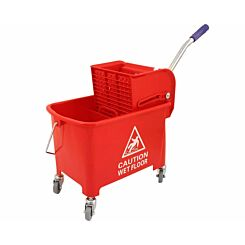 Charles Bentley Mobile Mopping Unit 20 Litre Red