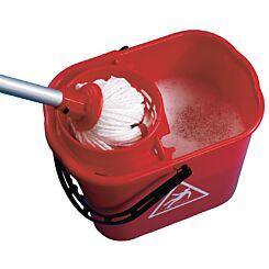 2Work Mop Bucket with Wringer 15 Litre