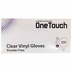 Powder Free Disposable Gloves Medium Box of 100