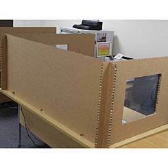 Pallite Desk Screen Set for 1600mm x 1200mm Desk