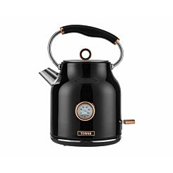 Tower Bottega Rose Gold Edition Stainless Steel Kettle 3KW 1.7L