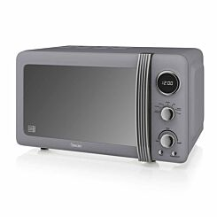 Swan Retro Digital Microwave 20L 800W