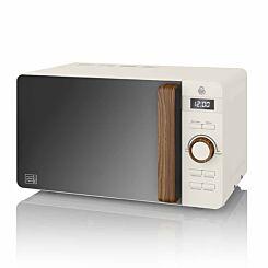 Swan Nordic Digital Microwave 20L 800W White