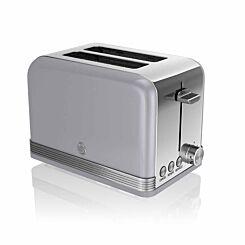 Swan Retro 2 Slice Toaster 815W