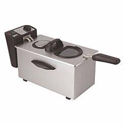 Igenix Stainless Steel Fryer 3.5 Litre