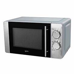Igenix Stainless Steel Manual Microwave 20 Litre 800W