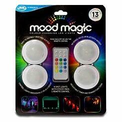 JML Mood Magic Colour-Changing LED Lights