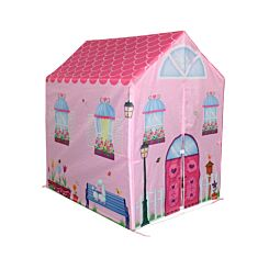 Charles Bentley Pink Wendy House Play Tent
