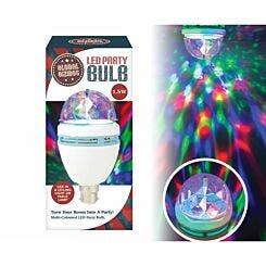 Global Gizmos Faceted Disco Light LED Bulb B22