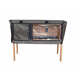 Charles Bentley Deluxe Pet Hutch Cover for Pet Hutch.01