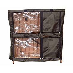 Charles Bentley Deluxe Pet Hutch Cover for Pet Hutch.02