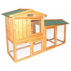 Charles Bentley Premium 2 Storey Wooden Pet Hutch.04