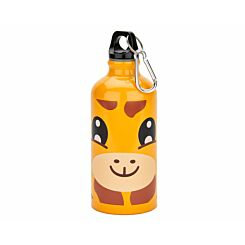 Aluminium Giraffe Design Water Bottle 400ml