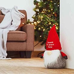 Personalised Christmas Gonk Doorstop