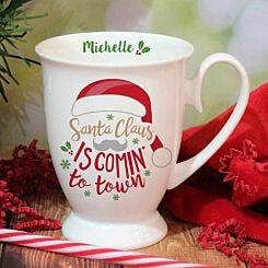 Personalised Santa Claus Mug