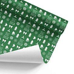 Ryman Personalised Santas Nice List Wrapping Paper 1m x 50cm