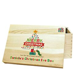 Personalised The Very Hungry Caterpillar Christmas Eve Box