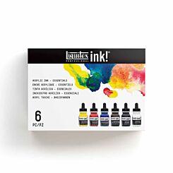 Liquitex Professional Essential Acrylic Ink Set of 6