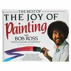 Bob Ross The Best of The Joy Of Painting Book
