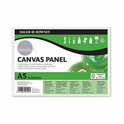 Daler Rowney Simply Canvas Panel A5