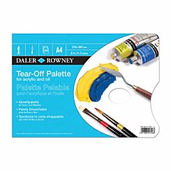 Daler Rowney Tear Off Palette for Oils and Acrylic A4
