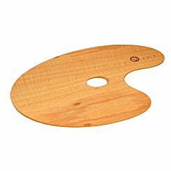 Jakar Oval Wooden Varnished Palette