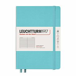 Leuchtturm Notebook Ruled A5 Aquamarine