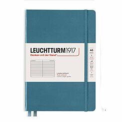 Leuchtturm Notebook Ruled A5 Stone Blue