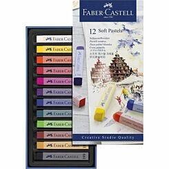 Faber-Castell Creative Studio Soft Pastels Box of 12