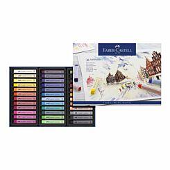 Faber-Castell Creative Studio Soft Pastels Box of 36