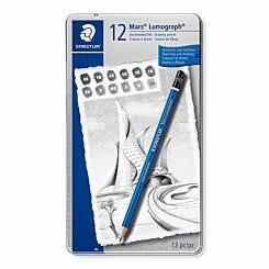 Staedtler Mars Lumograph Pencils Set of 12