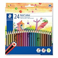 Staedtler Noris Colouring Pencils Pack of 24 Assorted