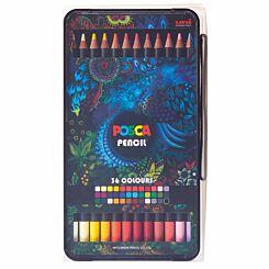 POSCA KPE-200 Pencils 36 Piece Set