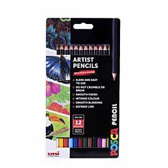 Posca Essential Pencils Pack of 12