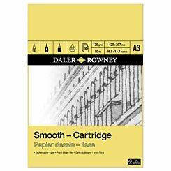 Daler Rowney Smooth Cartridge Pad A3