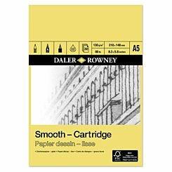 Daler Rowney Smooth Cartridge Pad A5