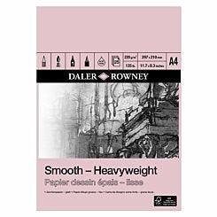 Daler Rowney Smooth Heavyweight Pad A4