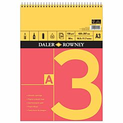 Daler Rowney A Series Spiral Sketch Pad A3