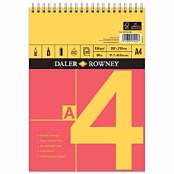 Daler Rowney A Series Spiral Sketch Pad A4