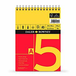 Daler Rowney A Series Spiral Sketch Pad A5