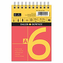 Daler Rowney A Series Spiral Sketch Pad A6