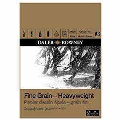 Daler Rowney Fine Grain Heavyweight Pad A3