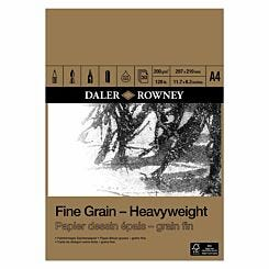 Daler Rowney Fine Grain Heavyweight Pad A4