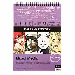 Daler Rowney Mixed Media Spiral Pad 30 Sheets