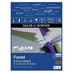 Daler Rowney Murano Pastel Pad Cool 12 x 9 Inch