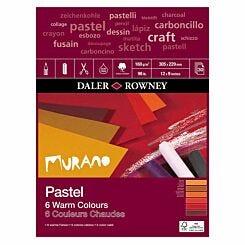 Daler Rowney Murano Pastel Pad Warm 12 x 9 Inch