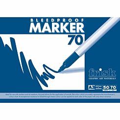 Frisk Bleedproof Marker Pad A3 70gsm 50 Sheets